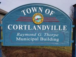 Town of Cortlandville Sign